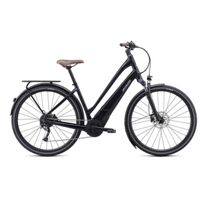 Specialized Turbo Como 3.0 Low Entry Electric Hybrid Bike - 2021 Black