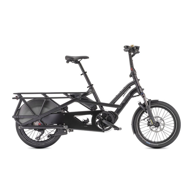 Tern GSD S10 LR  Electric Cargo Bike - 2021 Black