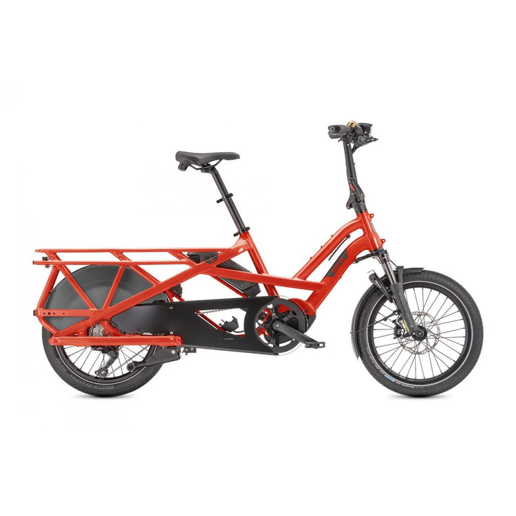 Tern GSD S10 LR  Electric Cargo Bike - 2021 Red