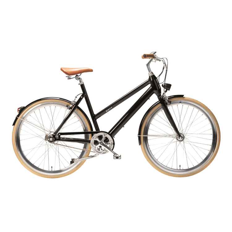 Watt Boston Women's Electric Hybrid Bike - 2020 Black