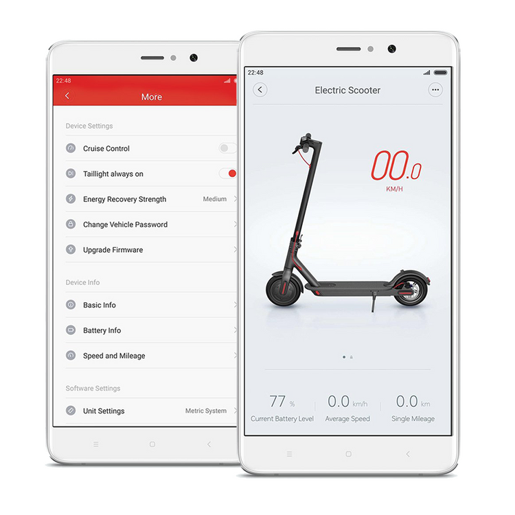 Xiaomi M365 Electric Scooter - with Pre-Inserted Puncture Prevention Fluid app