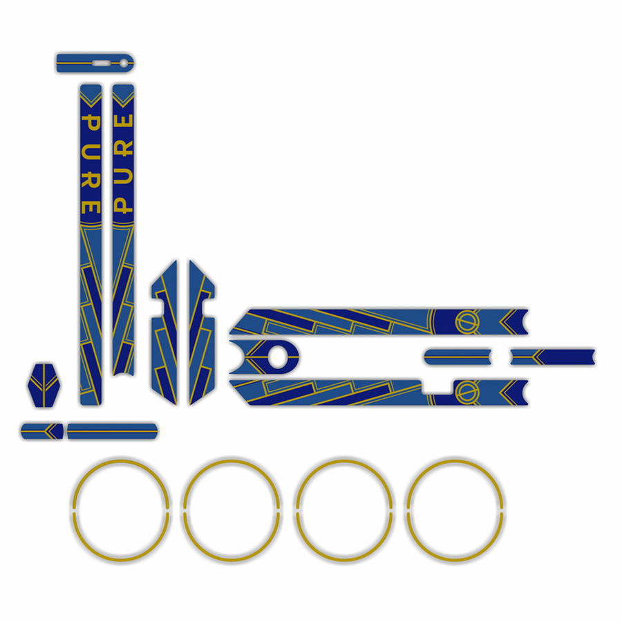 Art Deco Graphics Kit