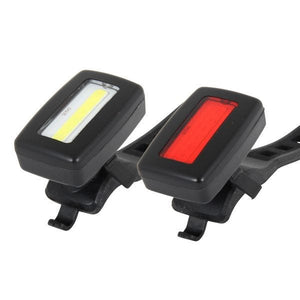 ETC FR45 USB Rechargeable Front and Rear Light Set