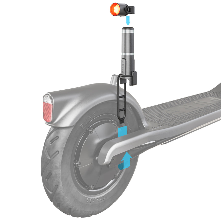 Pure Electric Scooter Light Mount