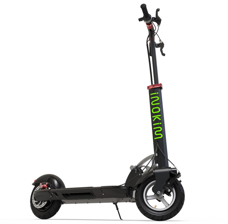 Black Inokim Quick 3 Super Electric Scooter