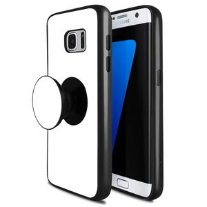 detailed pictures 4fb89 07d63 Custom Photo Smartphone Popsocket Stand Phone Case for Samsung S7 Edge