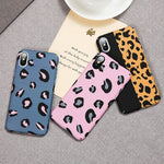 Tide Brand Small Leopard Apple Mobile Phone case for iPhone Soft Shell