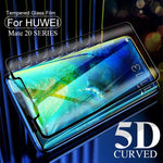 5D Curved Protective Glass For Huawei Mate 20 pro lite Screen Protector