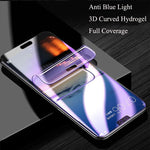 Anti-light blue 3D Full Screen Protector Hydrogel film Blue-Ray For Samsung S8/S8 Plus/S9/S9 Plus/Note 8/S7 edge Hydrogel full Screen Protector