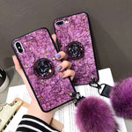 Marble Popsocket Phone Case for Huawei Mate 10 20 Pro nova 3i P20 P20 Pro