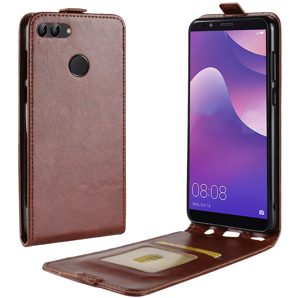 Luxury Leather Flip Back Phone Case For Huawei Mate20 Lite Pro Nova 3i Honor 10 Y9 Series