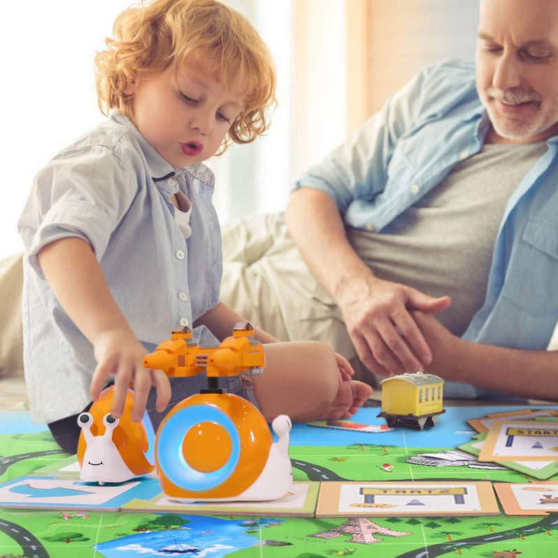 QOBO x 5 Qobo Preschool Coding Robot Activity Set -Cognition & Logic Thinking