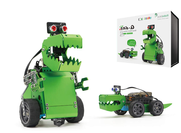 Q-Dino 2 in 1 Robotic kit for Kids 10+, Learning How to Code