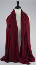 Chiffon Scarf- Deep Red - Modestia Collection is a Detroit scarf based brand with a curated for Detroiter's and to the eclectic style of scarf lovers around the globe.