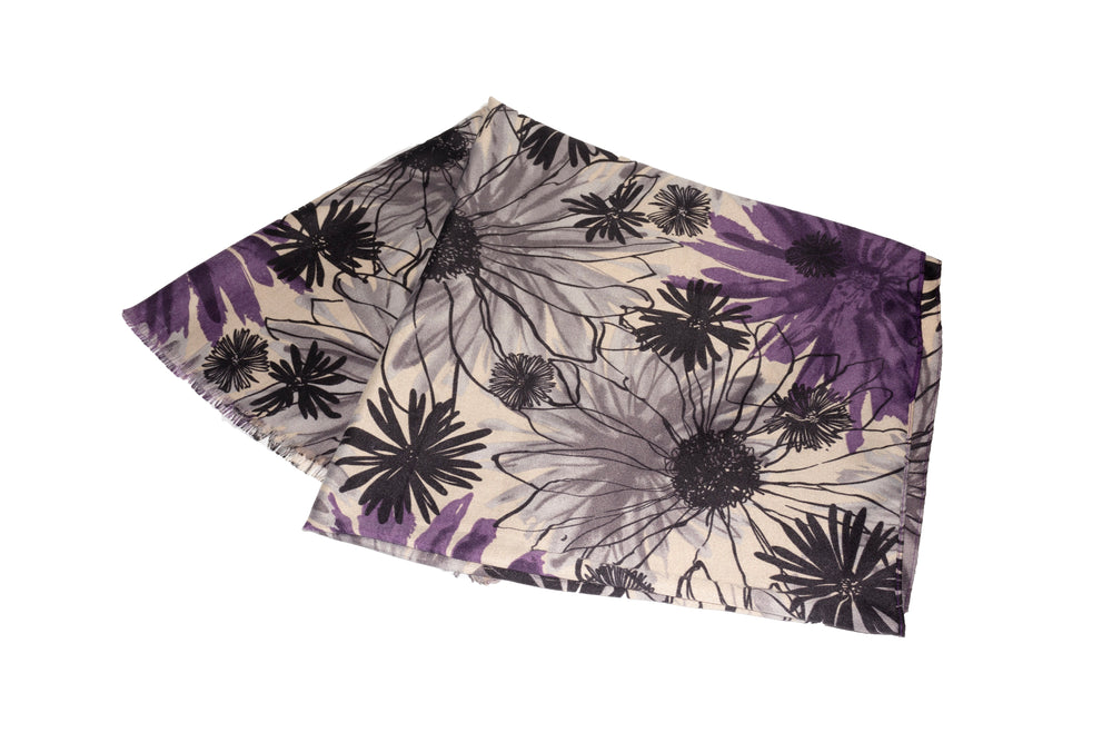 Botanical Garden - Purple - Modestia Collection is a scarf brand with a higher purpose, representing the eclectic style of a diverse and inclusive community of scarf lovers.