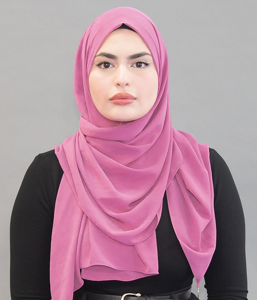 Limited Edition Gold Medallion Hijab / Scarf - Pink Lemonade ( Concentrated) - Modestia Collection is a scarf brand with a higher purpose, representing the eclectic style of a diverse and inclusive community of scarf lovers.