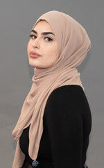 Limited Edition LUXE Chiffon Hijab / Scarf- Sandy Beach
