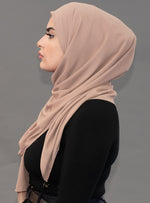 Limited Edition Gold Medallion Hijab / Scarf- Sandy Beach - Modestia Collection hijabs scarves turbans head wraps hijab empowered female empowerment community global community