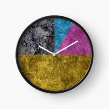 Load image into Gallery viewer, CMYK Clock byCHOLO