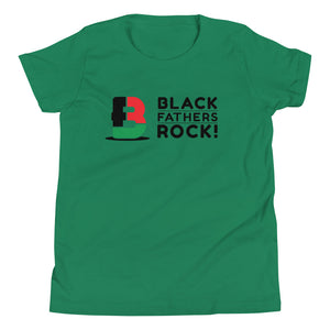 Black Fathers Rock! Youth Short Sleeve T-Shirt