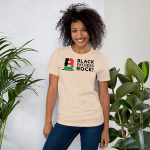 Black Fathers Rock! Short-Sleeve Unisex T-Shirt