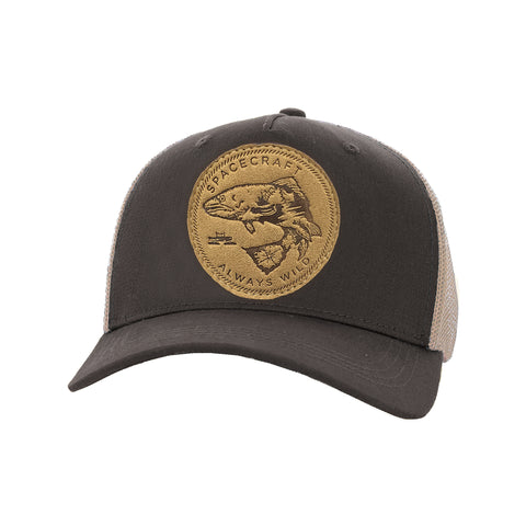 Wild Curved Brim Trucker Cap - Antics