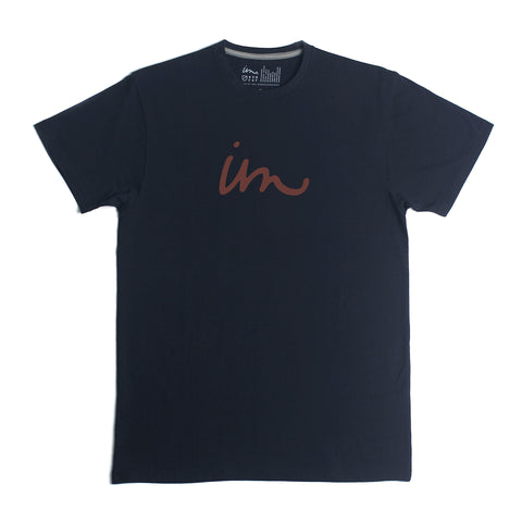 Curser Tee - Navy - Antics
