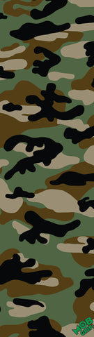 "Camo Green 9""x33"" Sheet Grip Tape"