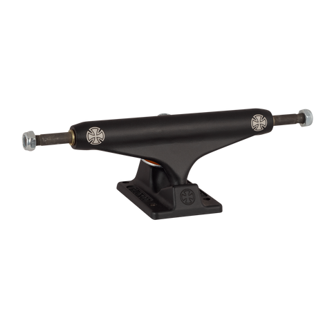 Stage 11 Dual Cross Flat Black Skateboard Trucks