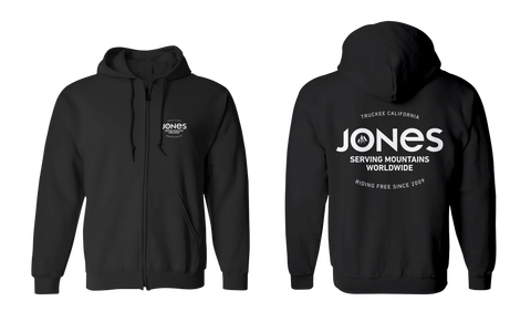 Jones Riding Free Zipper Hoodie