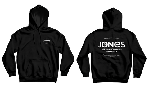 Jones Riding Free Pullover Hoodie