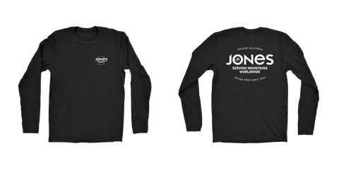 Jones Riding Free Long Sleeves Tee
