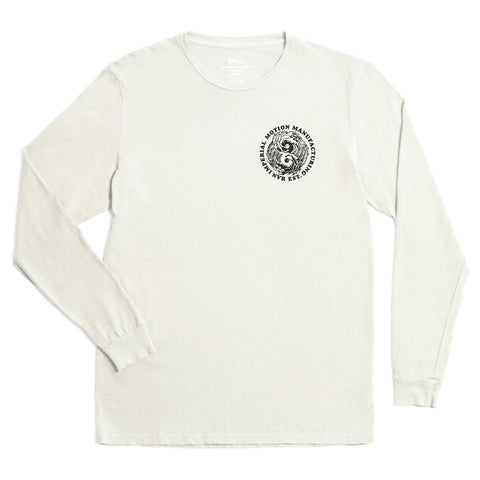 Low Tide LS Tee - Antique White Pigment - Antics