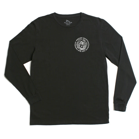 Low Tide LS Tee - Black Pigment - Antics