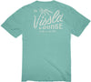 Palm Tree Lounge Vintage Wash Pocket Tee