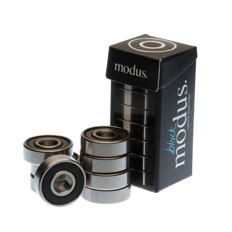 Black Skateboard Bearings