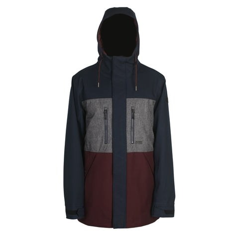 Montlake Jacket - Navy/Grey/Wine 2020 - Antics