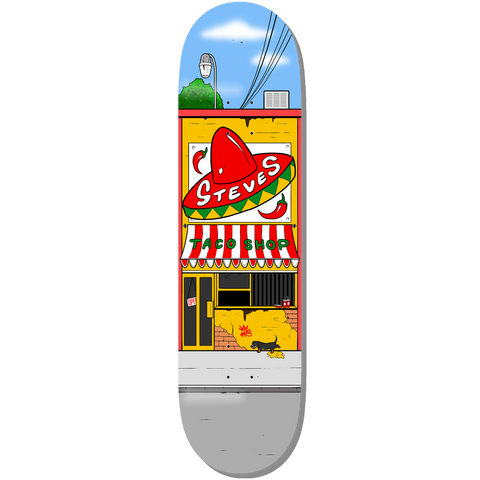 Steve's Shop Skateboard Deck