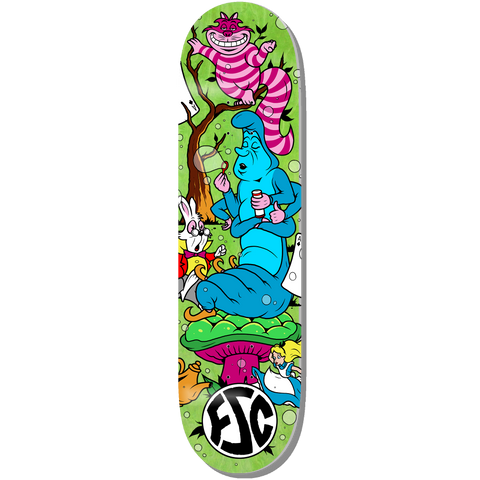Wonderland Skateboard Deck