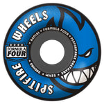 Formula Four Blue/Grey 54mm Radial Skateboard Wheels