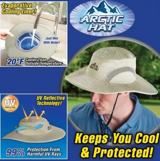 Arctic Hat with UV Protection Keeps you Cool and Protected