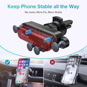 In Car Gravity Phone - GPS Holder