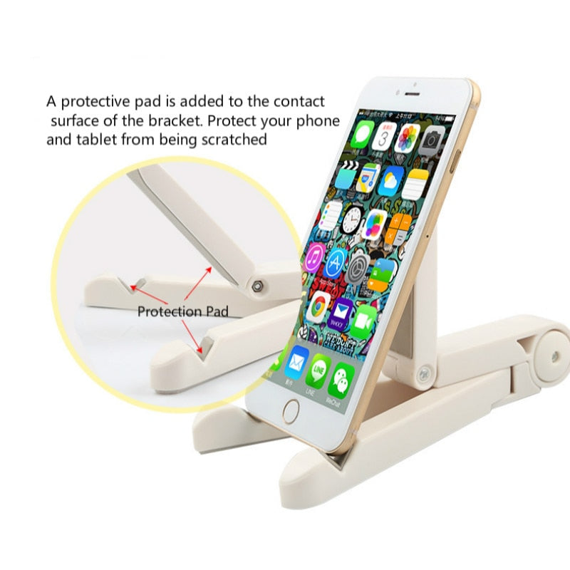 Universal Foldable Phone Tablet Holder Suitable For All Mobiles - Tablets - Readers