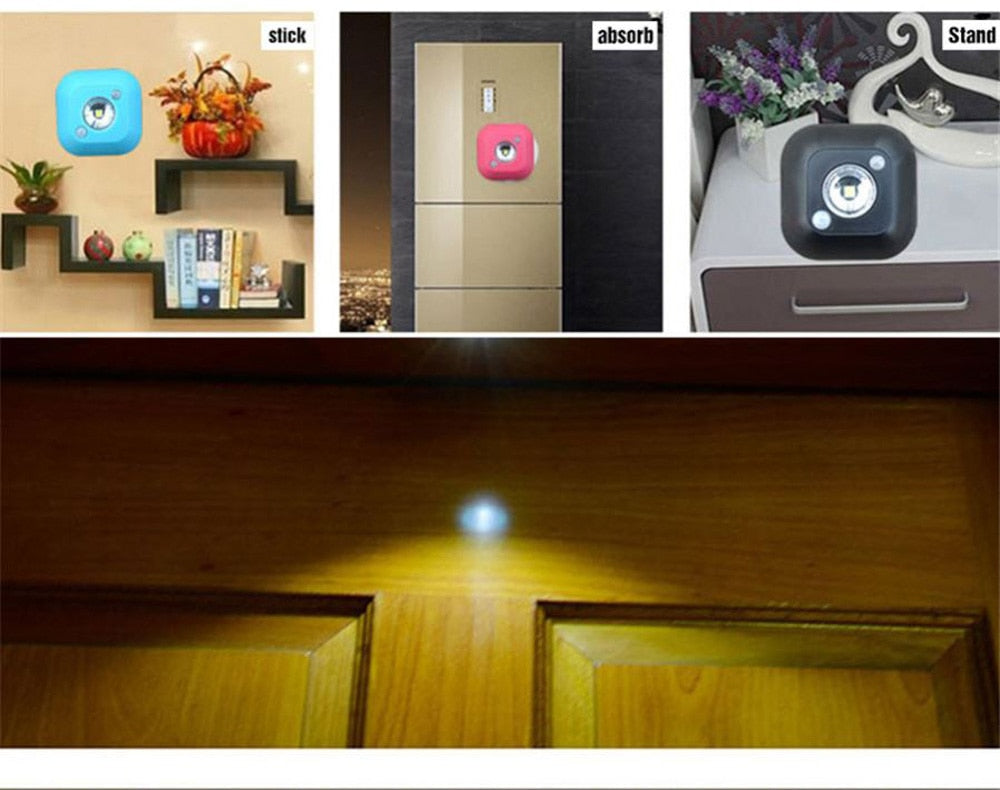 Infra Red Motion Sensor Magnetic Stair Lights