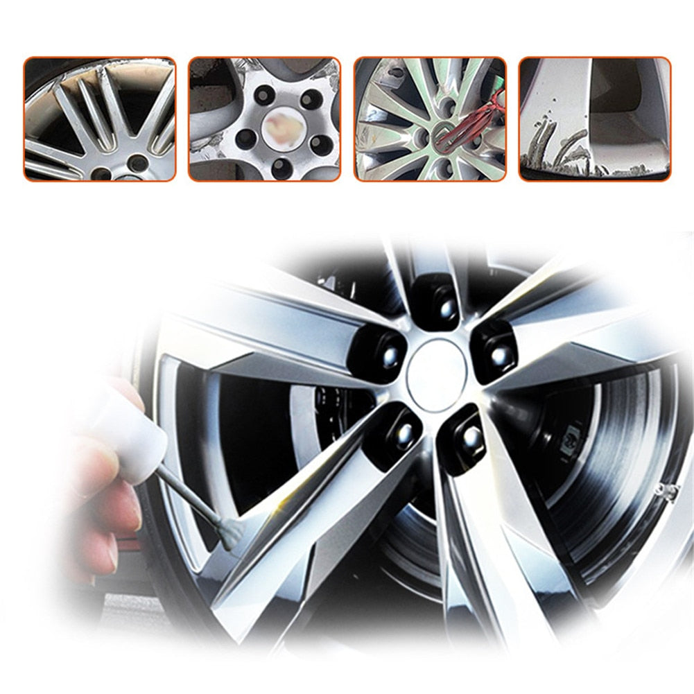 DIY Alloy Wheel Repair