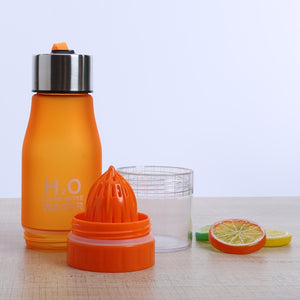 Drinking Bottle With Fresh Juicer