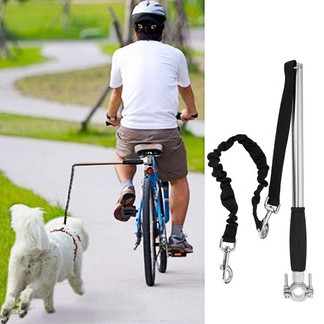 Retractable Hands Free Dog To Bike Training Exerciser
