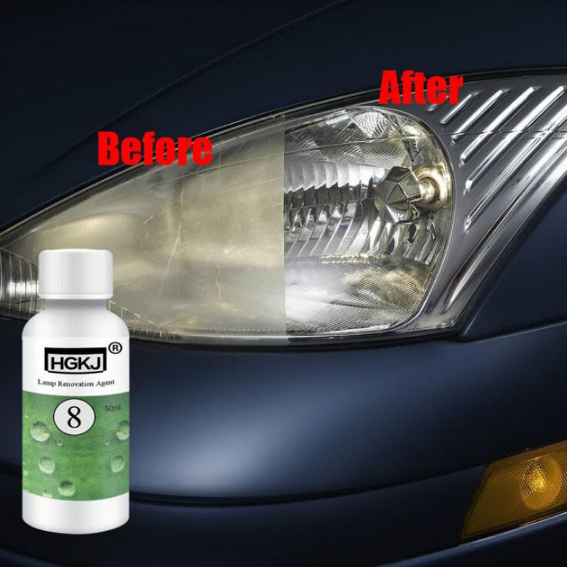 Headlight Lens Restorer And Cleaner