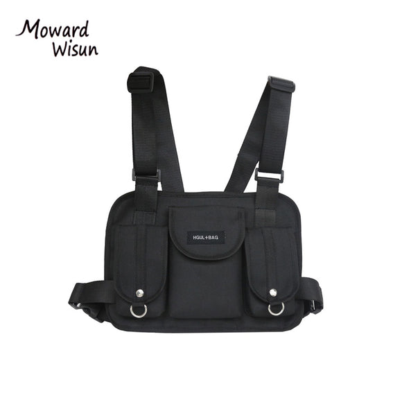 Functional Tactical Chest Bag With Cross Shoulder Strap