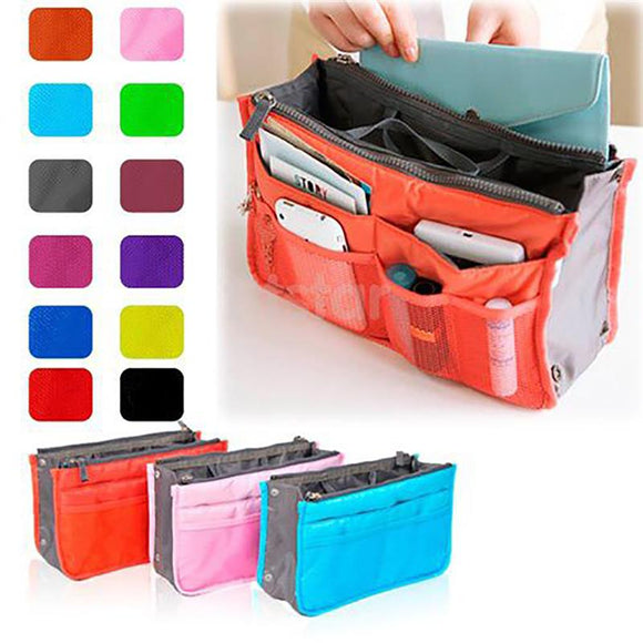 Travel Cosmetic And Makeup Bag With Phone Pocket For Excellent Organization